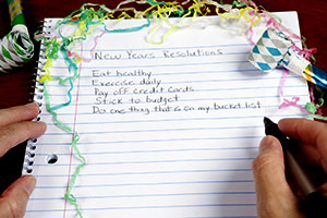 25 tips for success: New Year's resolutions