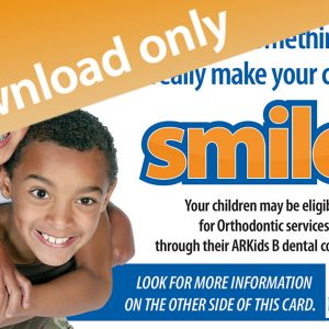 ARKIDS B Orthodontist English postcard download only