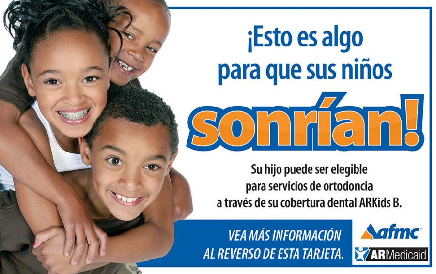 ARKIDS B Orthodontist Spanish postcard download only