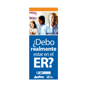 ER Brochure: Do you really need to be in ER? Brochure