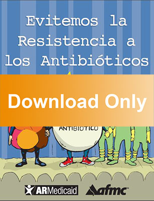 Antibiotic resistance - coloring book, Spanish (download) - AFMC