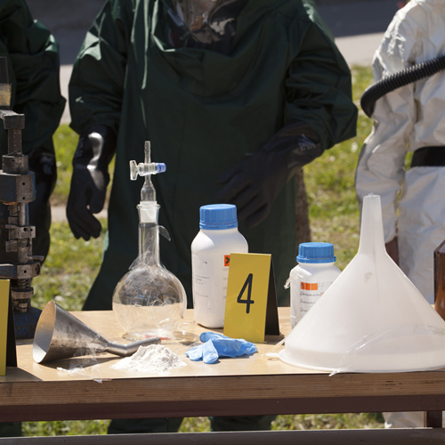 meth lab bust in Arkansas