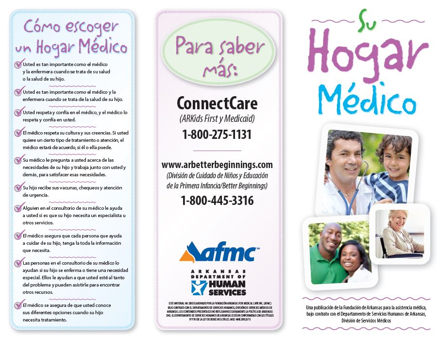 your medical home brochure spanish download afmc
