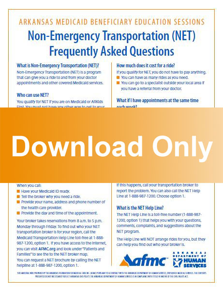 Non-Emergency Transportation Frequently Asked Questions