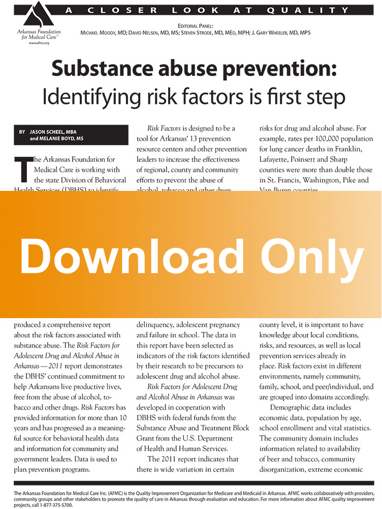 Article- Substance abuse prevention (download) - AFMC
