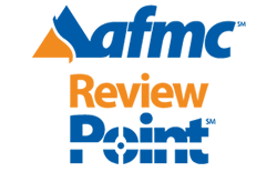 AFMC ReviewPoint Logo and link
