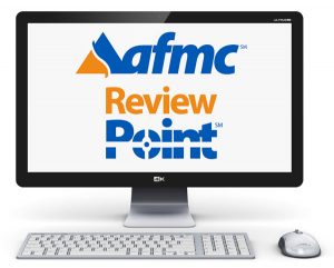 Review Point logo displayed on a computer monitor