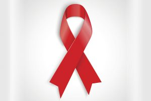 image of Go red for Women Day ribbon