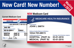 image of new Medicare card