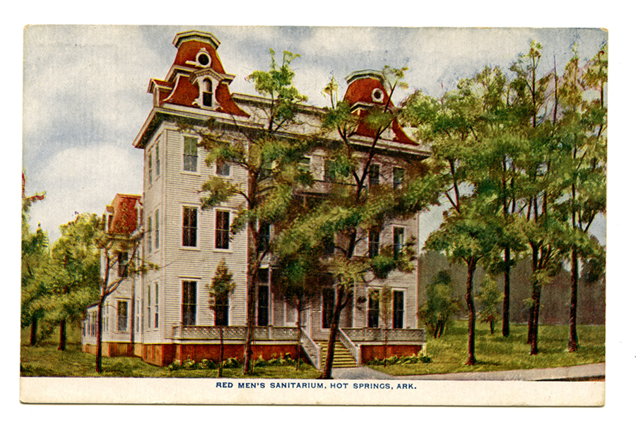 Arkansas Medical History: Red Men's Sanitarium in Hot Springs