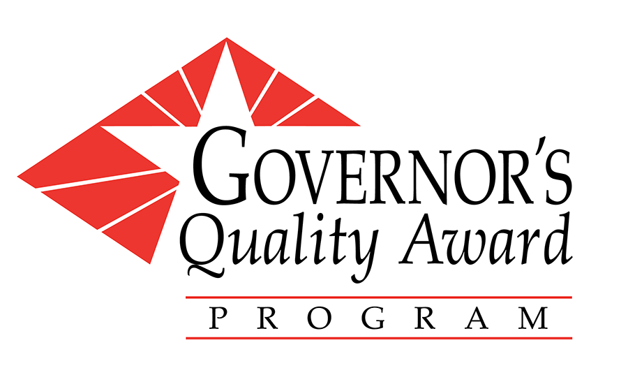 image of the Governor's Quality Award Program logo