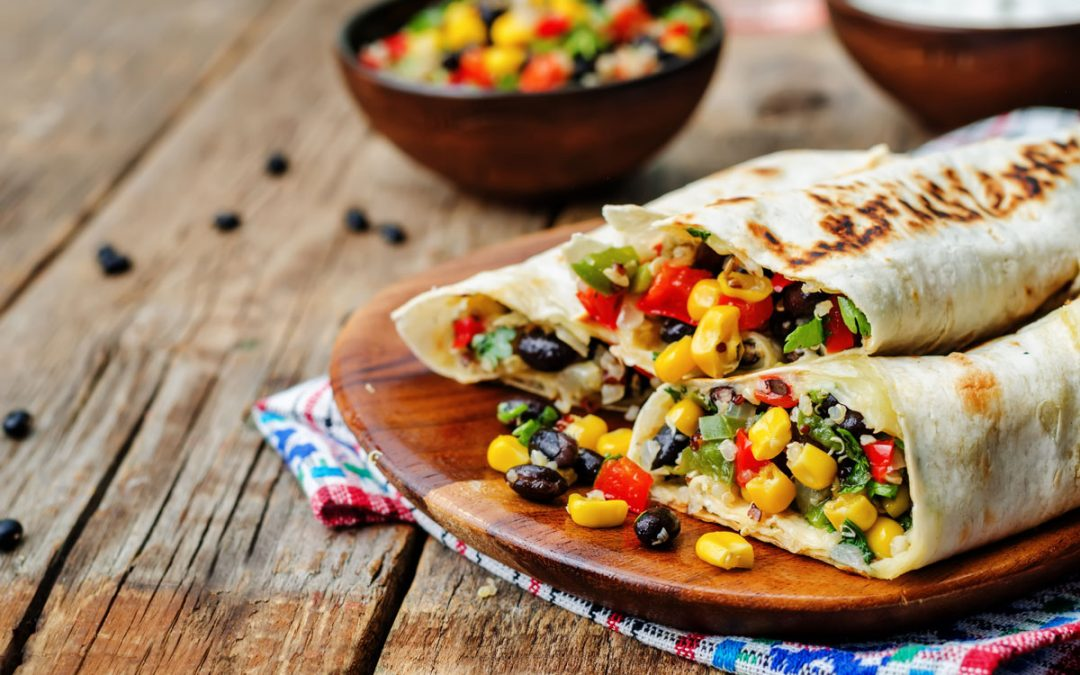 Recipe: Corn and Black Bean Burritos